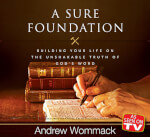 """A Sure Foundation """"As Seen On TV"""" DVD Album"""