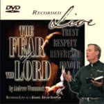 The Fear Of The Lord - Live