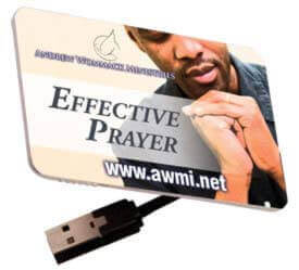 Effective Prayer (MP3 USB Drive)