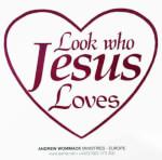 Look Who Jesus Loves Sticker