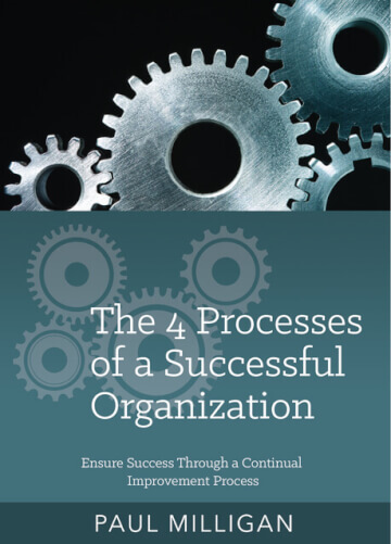 The 4 Processes Of A Successful Organization  - CD by Paul Milligan