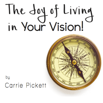 The Joy of Living In Your Vision - CD Album by Carrie Pickett