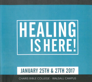 Healing Is Here - January 2017