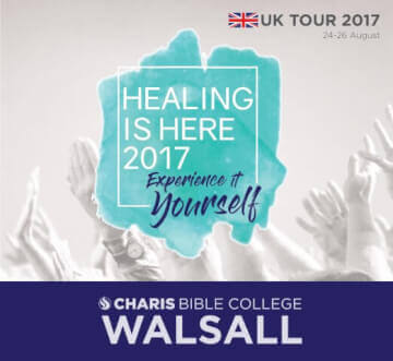 Healing Is Here UK Tour - August 2017