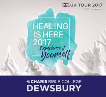 Healing Is Here UK Tour - September 2017
