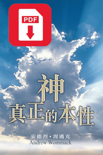 Chinese - Traditional: The True Nature of God eBook (PDF)