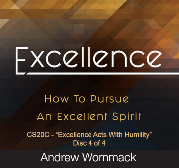 Excellence Acts With Humility